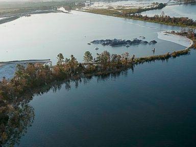 Dam breach raises concerns about coal ash flowing into North Carolina river