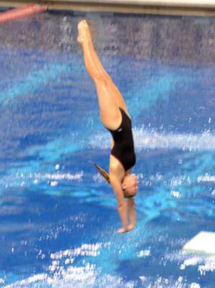 PHOTO: Sydney Galleger, 17, a high school junior, was a diver on the schools swim team.