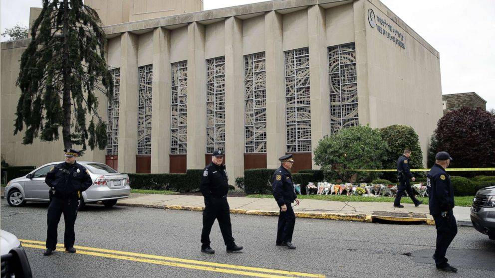 Eleven people were shot dead at the Tree of Life synagogue in Oct. 2018. thumbnail