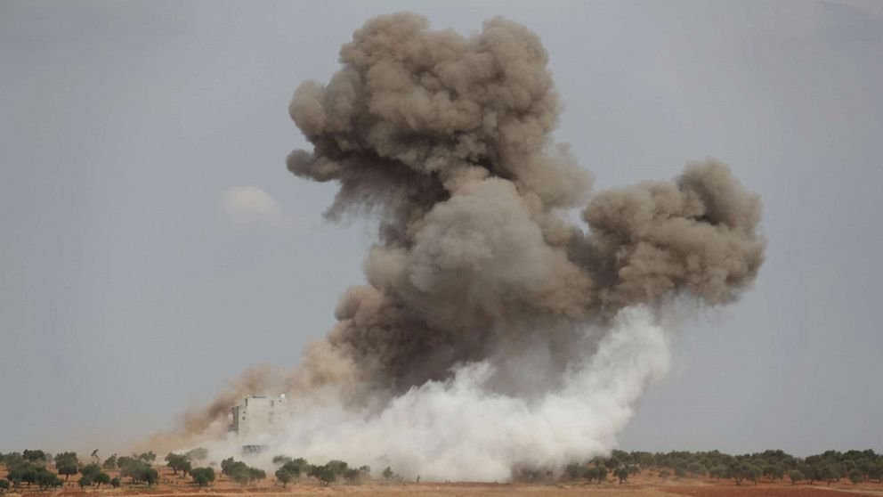 'Mulai di Sini': Lemah Suriah gencatan senjata dan Tulsi Gabbard tuduhan Rusia