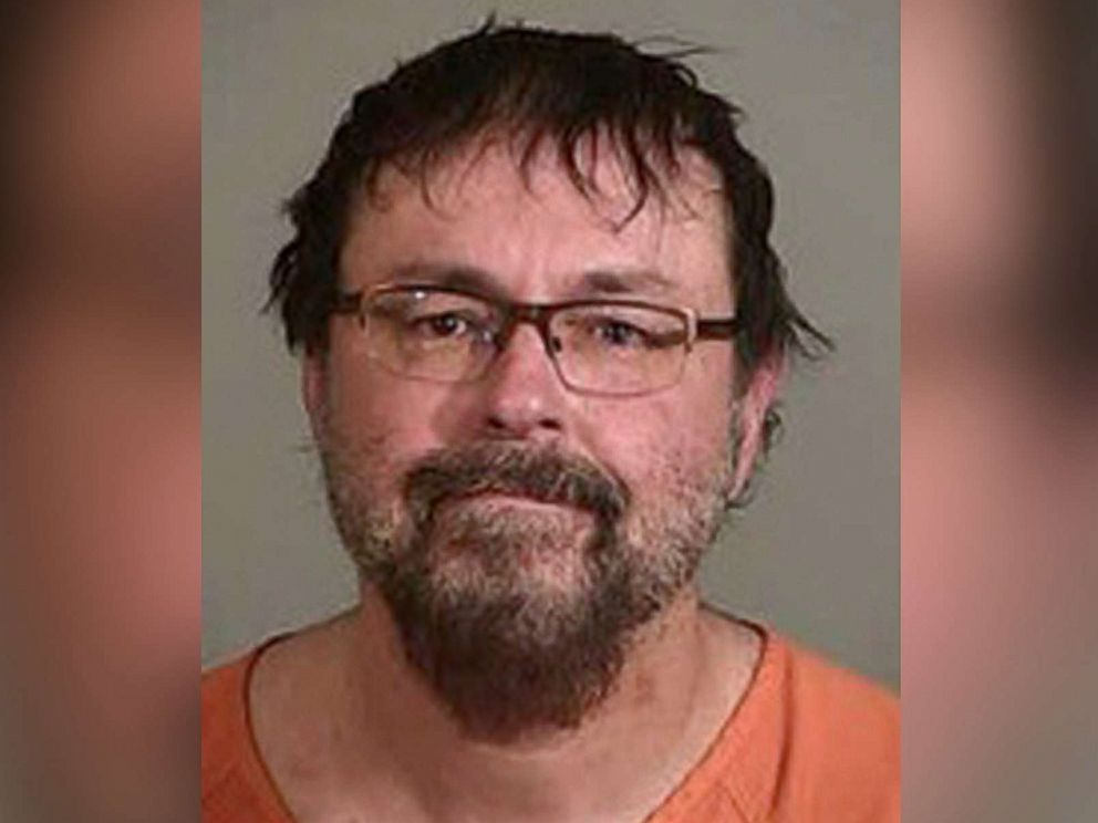 PHOTO: Tad Cummins can be seen in a booking photo published on April 20, 2017 by the Sheriff's Office of Siskiyou County.