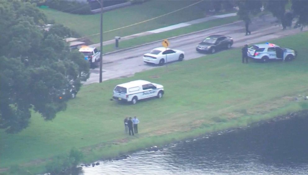 PHOTO: Police discovered an unconscious child submerged in Hillsborough River on Aug. 2, 2018, in Tampa, Fla.