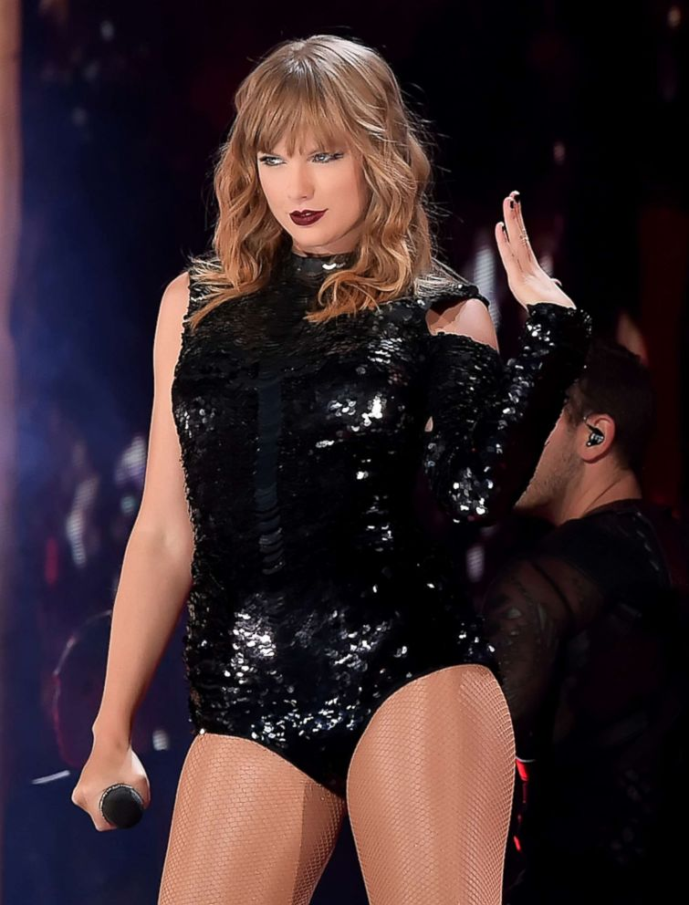PHOTO: Taylor Swift performs onstage during opening night of her 2018 Reputation Stadium Tour at University of Phoenix Stadium, May 8, 2018, in Glendale, Ariz.