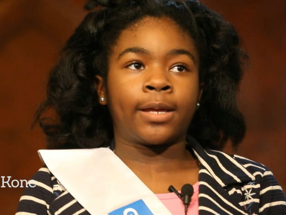 PHOTO: Tchanori Kone, a fifth grader who won a Martin Luther King Jr. Speech competition, is pictured in this still image from video.