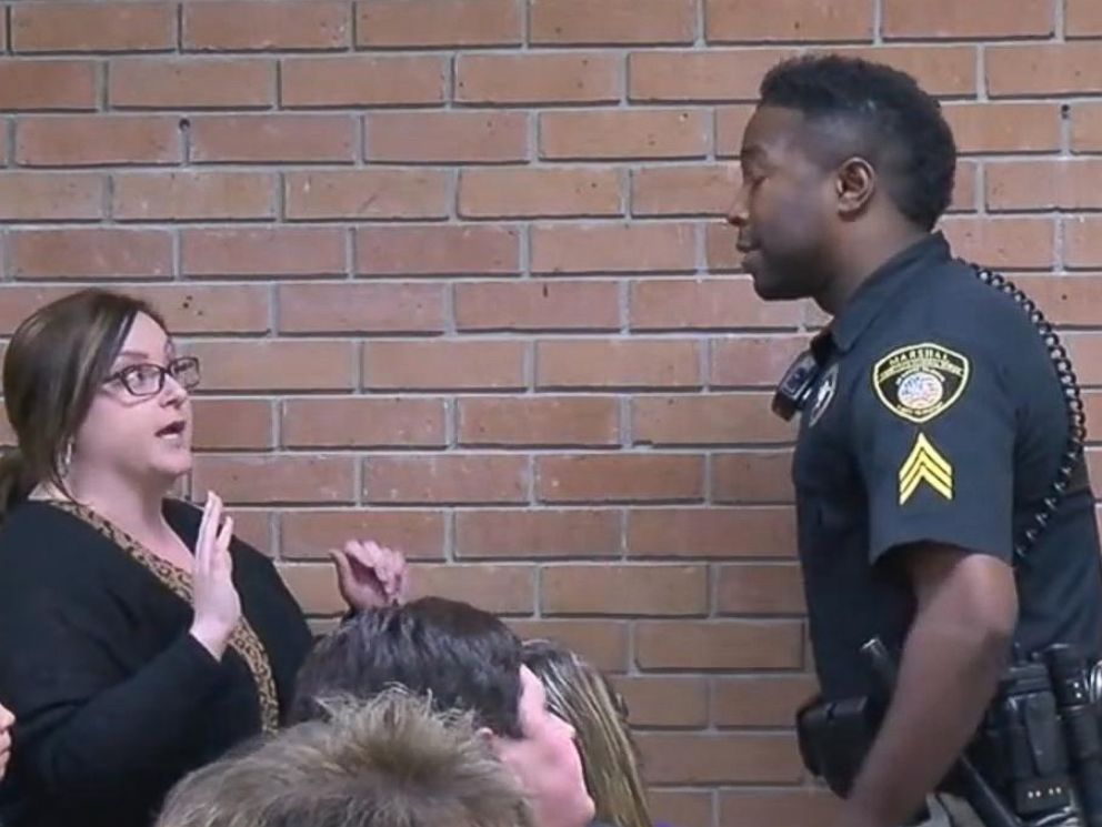 teacher handcuffed at school board meeting speaks at rally i want