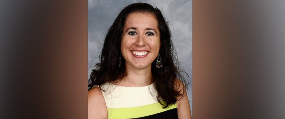 PHOTO: Dayanna Volitich in a photo from Crystal River Middle School where she worked as social studies teacher.