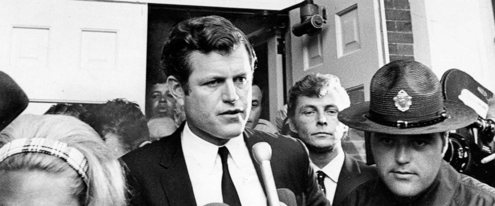 PHOTO: Senator Edward M. Kennedy leaves the Dukes County Courthouse in Edgartown, Mass., July 25, 1969, after pleading guilty to leaving the scene of a fatal auto accident.