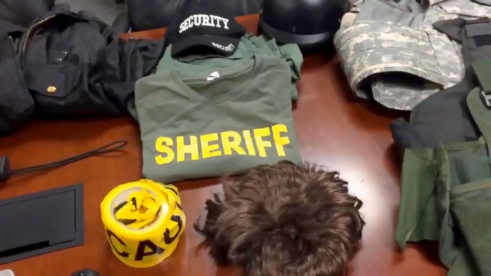 PHOTO: A 14-year-old teen in Victorville, California was arrested on Tuesday for impersonating a deputys sheriff.