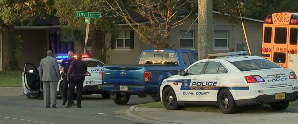PHOTO: A high school student in Florida was shot on his way to the bus stop and is now in the hospital undergoing surgery for life-threatening injuries, the Jacksonville Sheriffs Office said.