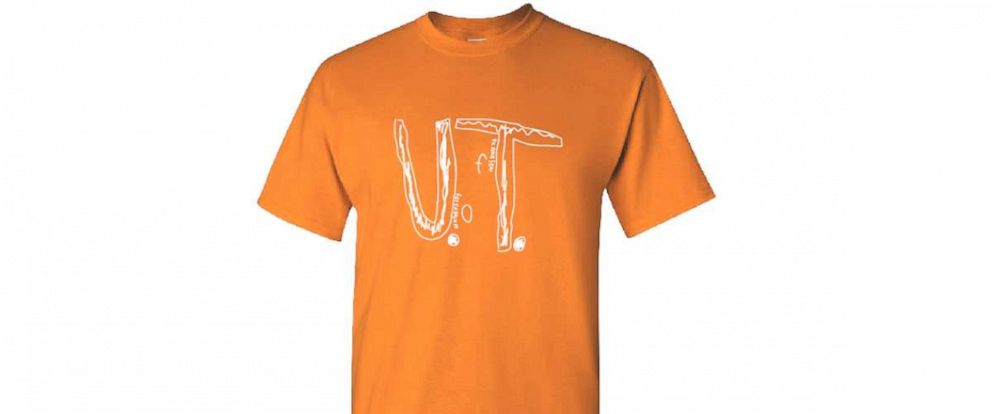 PHOTO: The University of Tennessee is now selling a Florida elementary students design after he was bullied.