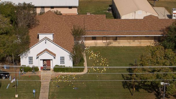 Texas church shooter's ex-wife says he held a gun to her head