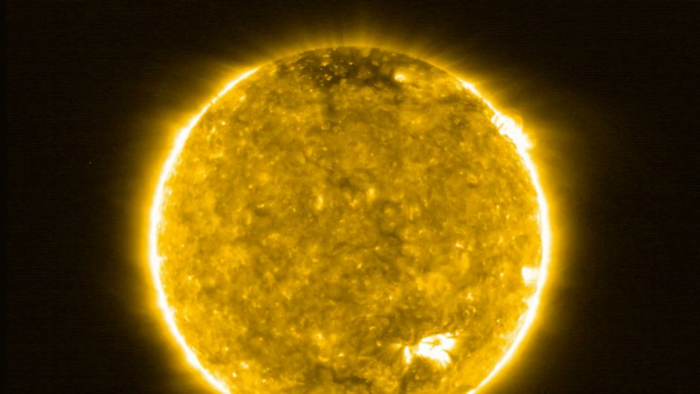 NASA and the ESA release the closest images ever taken of the sun