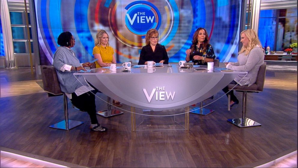 PHOTO: Meghan McCain speaks on The View, May 14, 2018.