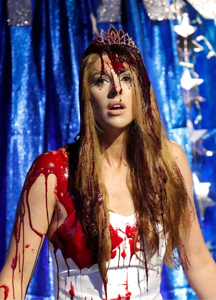 PHOTO: The View co-host Abby Huntsman as Carrie from Stephen Kings novel on Thursday, Oct. 31, 2019.