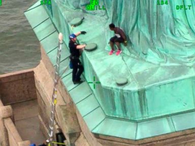 Woman who climbed Statue of Liberty on July 4 may see prison time
