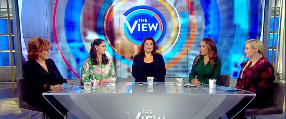 "PHOTO: ""The View"" co-hosts responded to harsh comments about Joy Behar from Kid Rock Friday."