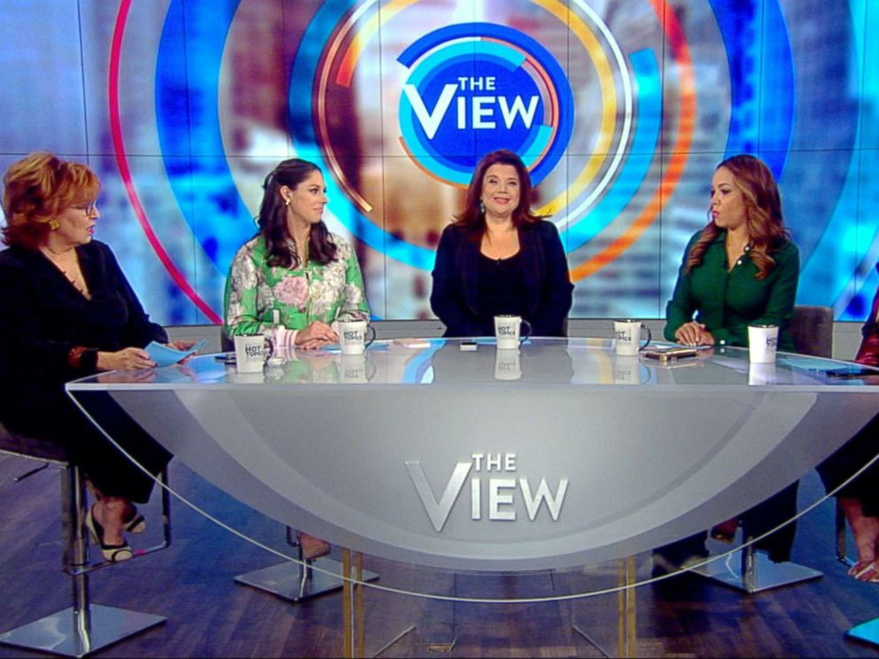 PHOTO: The View co-hosts responded to harsh comments about Joy Behar from Kid Rock Friday.
