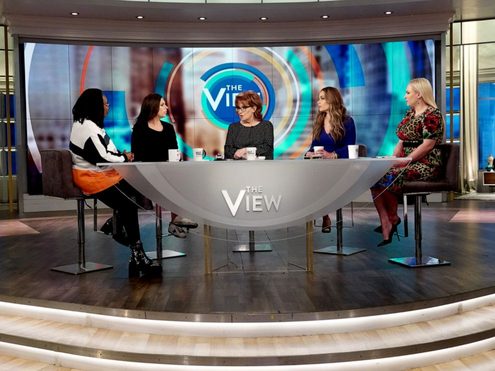 PHOTO: The View co-hosts discuss presidential candidate Pete Buttigiegs comments on how white privilege has contributed to the success of his 2020 campaign on April 30, 2019.