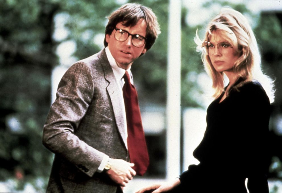 PHOTO: John Ritter and Dorothy Stratten in a scene from They All Laughed.