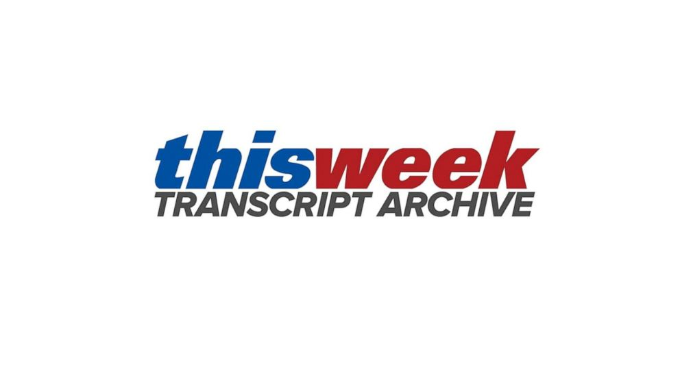 This Week Transcript Archive