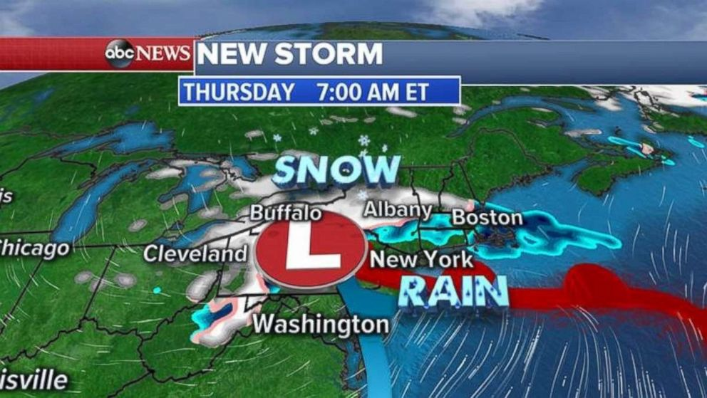 Weather Authority: Midweek chance of snow and rain