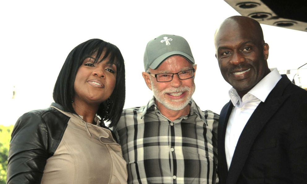 PHOTO: Form left: CeCe Winans, Jim Bakker and BeBe Winans attend the ceremony honoring BeBe Winans and CeCe Winans with a star on the Hollywood Walk of Fame on Oct. 20, 2011, in Hollywood, Calif.
