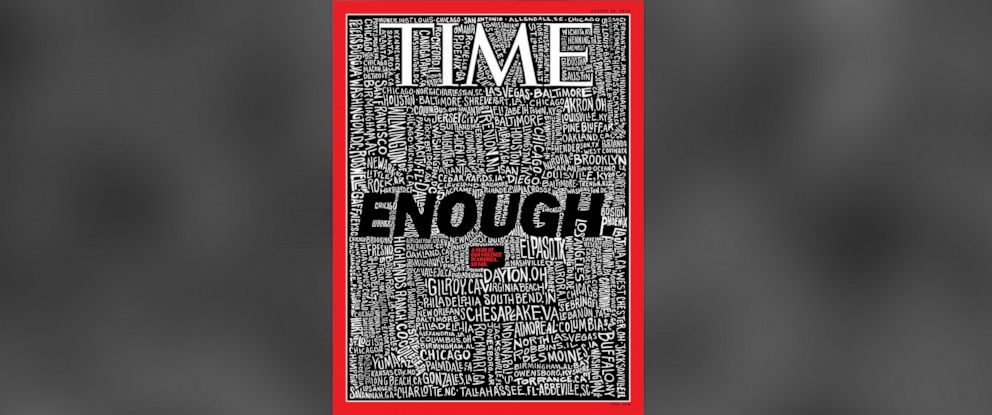 PHOTO: The latest TIME magazine cover is about gun violence in America.