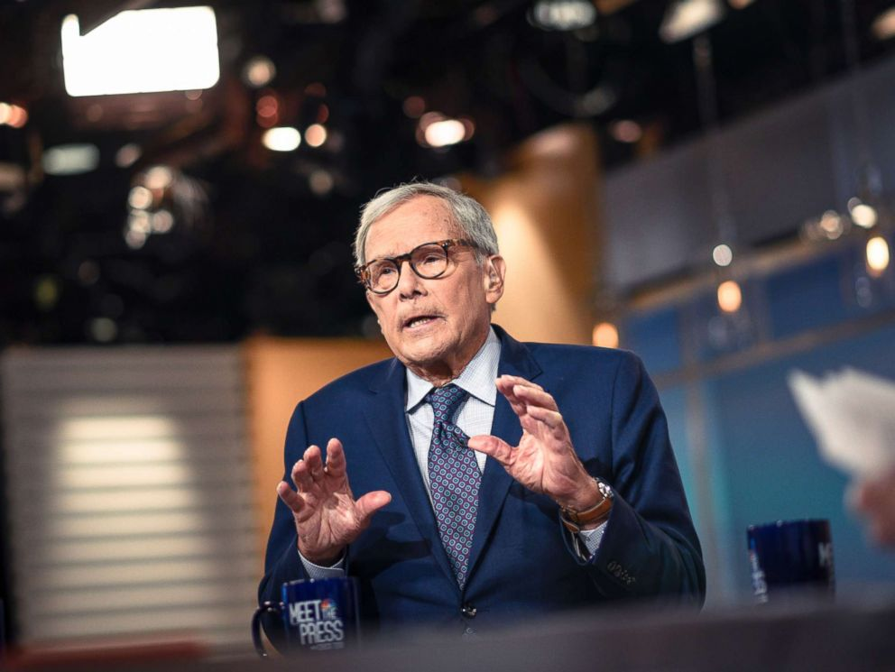 PHOTO: Tom Brokaw, NBC News Special Correspondent, appears on Meet the Press in Washington, D.C., March 4, 2018.