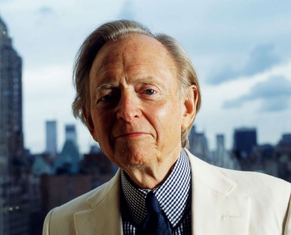 PHOTO: Author Tom Wolfe in his Upper East-Side apartment, New York City, Oct. 21, 2004.