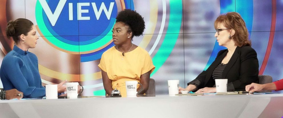 "PHOTO: Tommia Dean joined ""The View"" today to discuss why she believes officials tried to stop the protest."