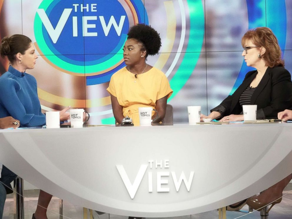 PHOTO: Tommia Dean joined The View today to discuss why she believes officials tried to stop the protest.