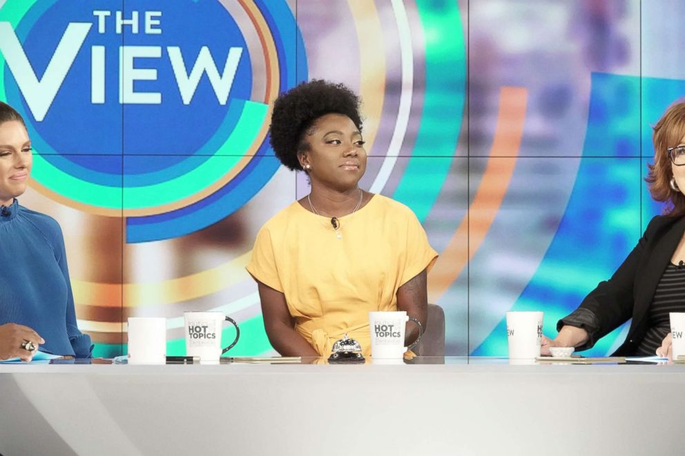 "Tommia Dean joined ""The View"" today to discuss why she believes officials tried to stop the protest."