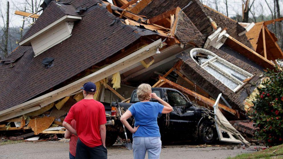 At least 5 dead as tornadoes tear through Alabama - ABC News
