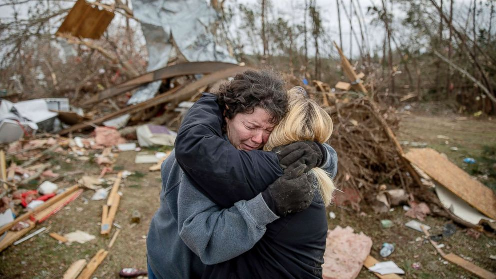 Alabama tornado victims identified by coroner; companies offer to cover funeral costs thumbnail