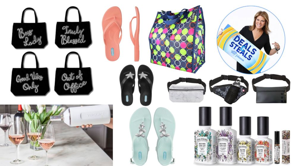 Gma Deals And Steals On Must Have Coolers Sandals Bags And More For Summer Abc News