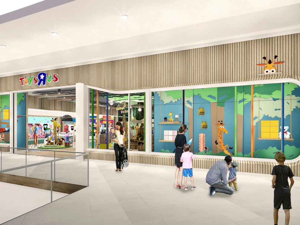PHOTO: This undated artist rendering provided by Toys-R-Us shows an artist rendering of a new store.
