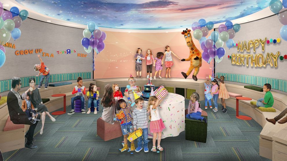 PHOTO: An artist rendering shows the design for the new Toys R Us stores.