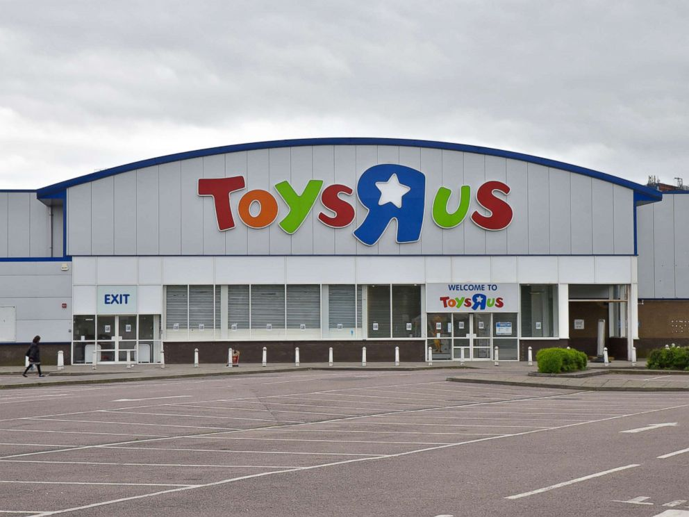 PHOTO: A Toys R Us store in London is pictured, April 24, 2018.