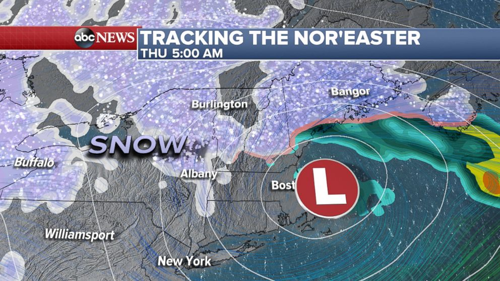 Northeast Bracing For Another Nor Easter Days After Deadly