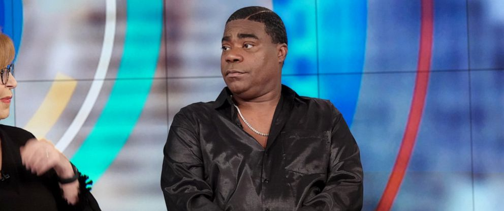 """PHOTO: Tracy Morgan discusses his health and career on """"The View"""" Monday April 8, 2019."""