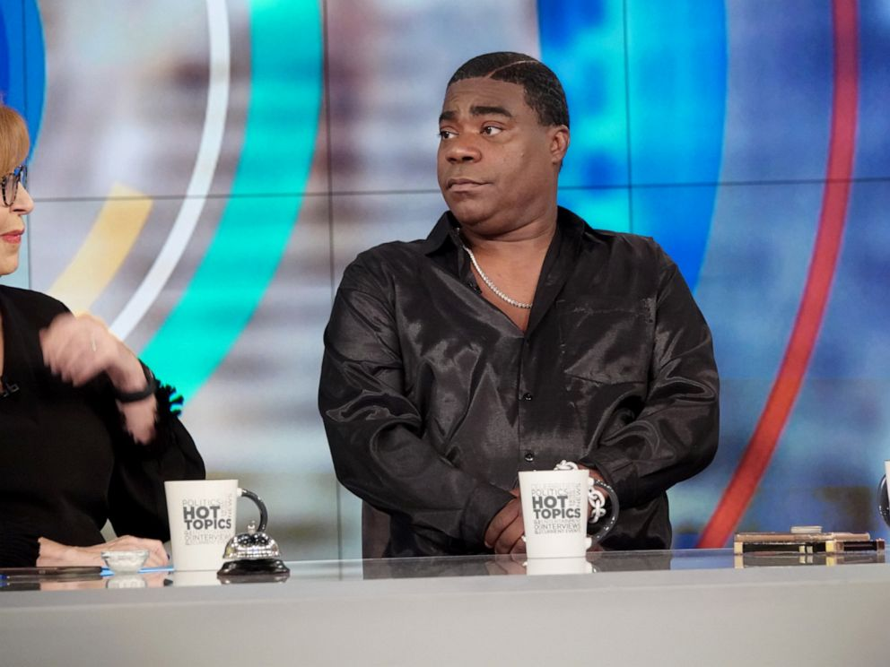 PHOTO: Tracy Morgan discusses his health and career on The View Monday April 8, 2019.