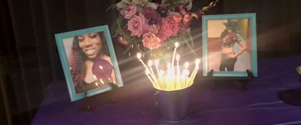 PHOTO: Family and friends held a vigil for Tracy Williams, a transgender woman who was murdered in Houston this summer.