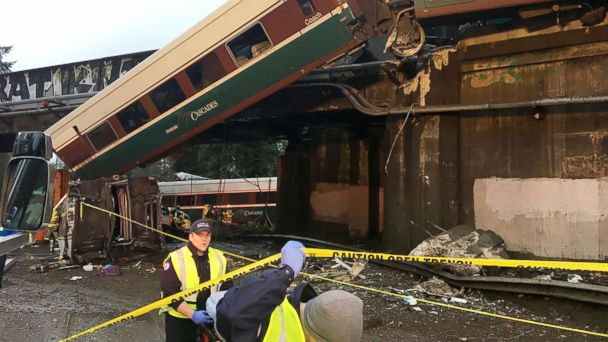 At least 3 dead after Amtrak train derails going 80 mph in 30-mph zone: NTSB