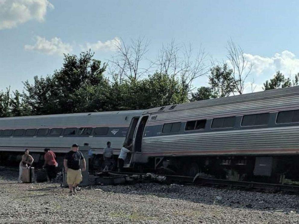 Truck driver dies when vehicle struck by Amtrak train in