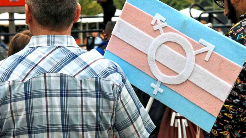 People marched through Philadelphia to demand basic human and civil rights for the transgender community, Oct. 6, 2018.