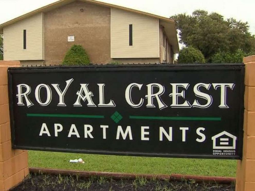 PHOTO: A transgender woman was violently attacked in a mob assault at the Royal Crest Apartments in Dallas on Friday, April 12, 2019, police said.