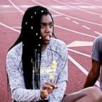 Andraya Yearwood (left) and Terry Miller two transgender track and field student-athletes, open up about their experiences facing backlash in an interview with ABC News' Linsey Davis.