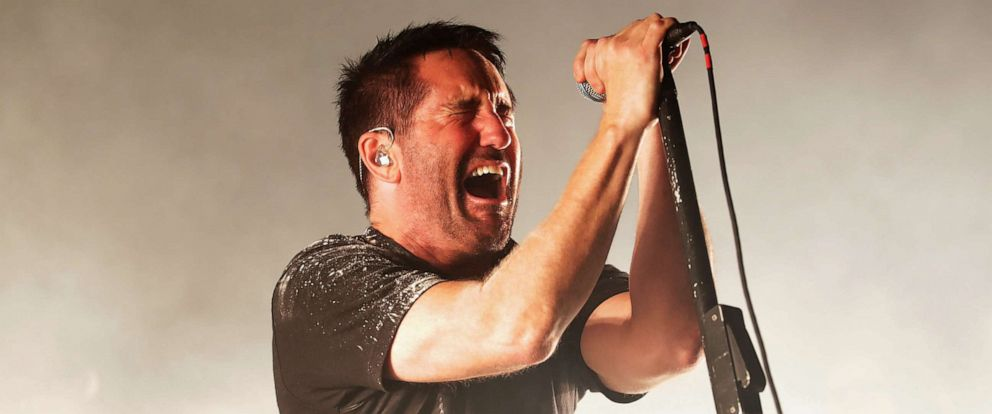 PHOTO: Trent Reznor of Nine Inch Nails performs live in Incheon, South Korea, Aug. 11, 2018.