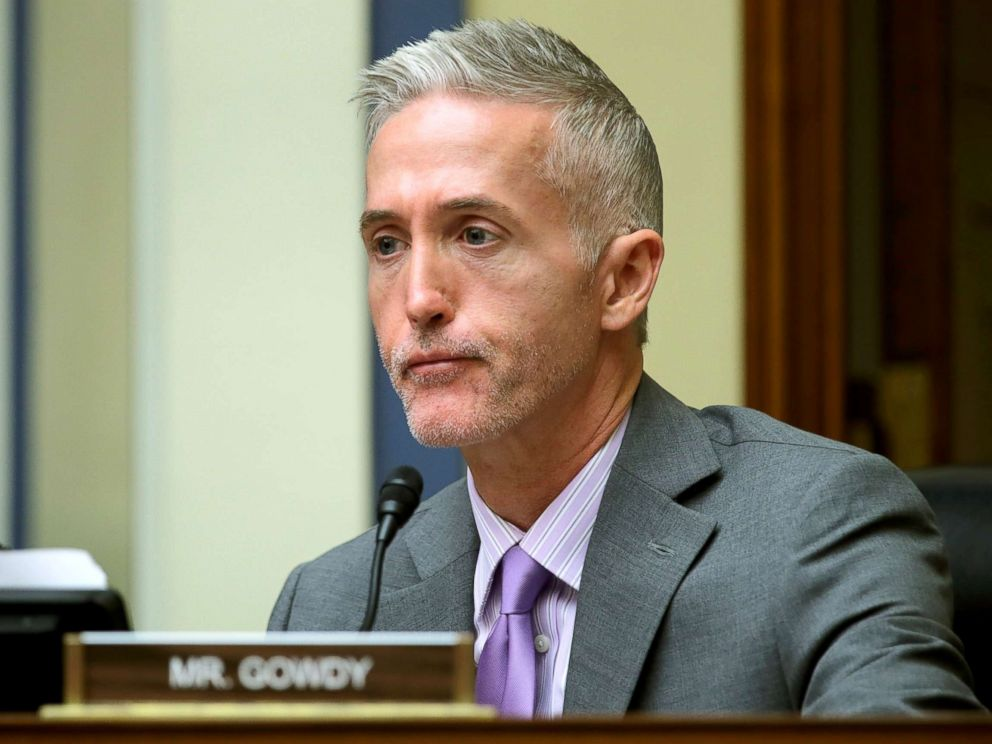 PHOTO: Trey Gowdy, chairman of House Oversight Committee, Jan. 31, 2018.