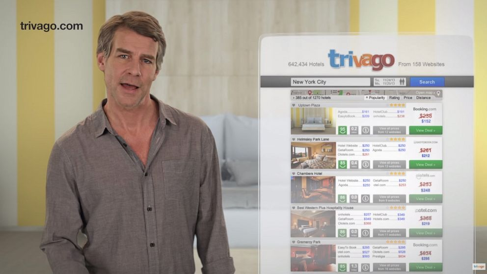 Trivago pitchman Tim Williams arrested for driving while intoxicated